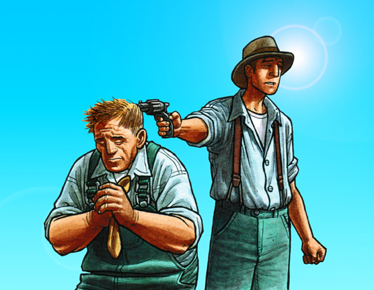 Image result for george kills lennie