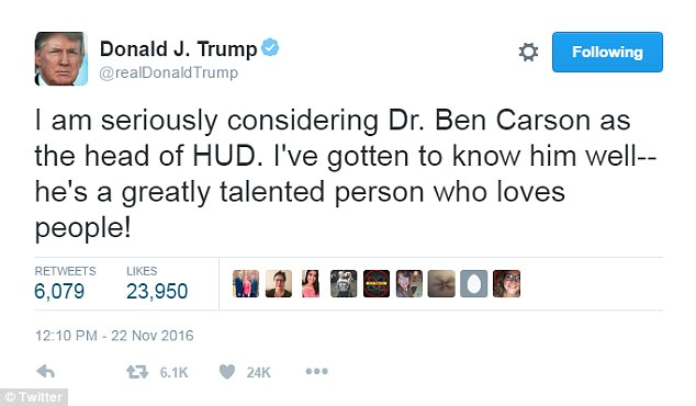 Image result for Trump Tweets about cabinet
