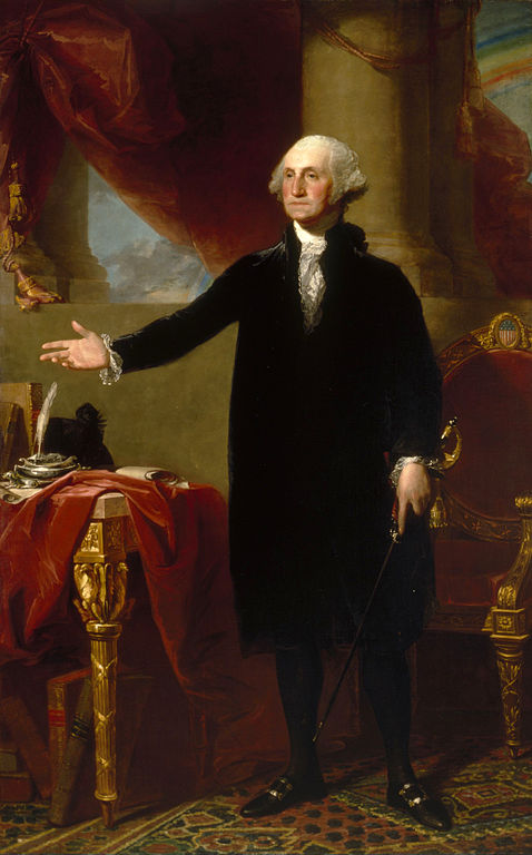 Image result for Official portrait George Washington