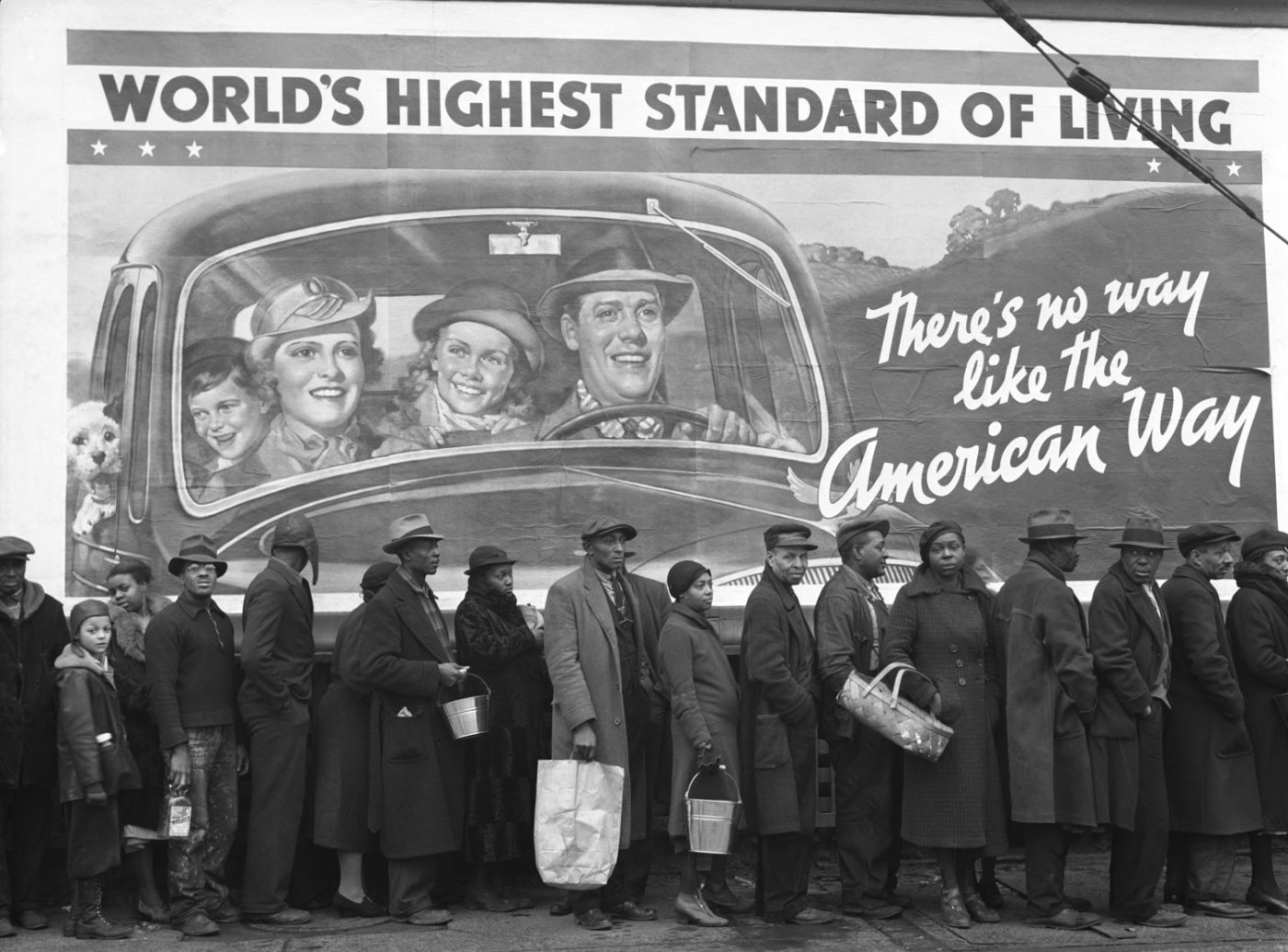 Image result for prosperity propaganda great depression USA