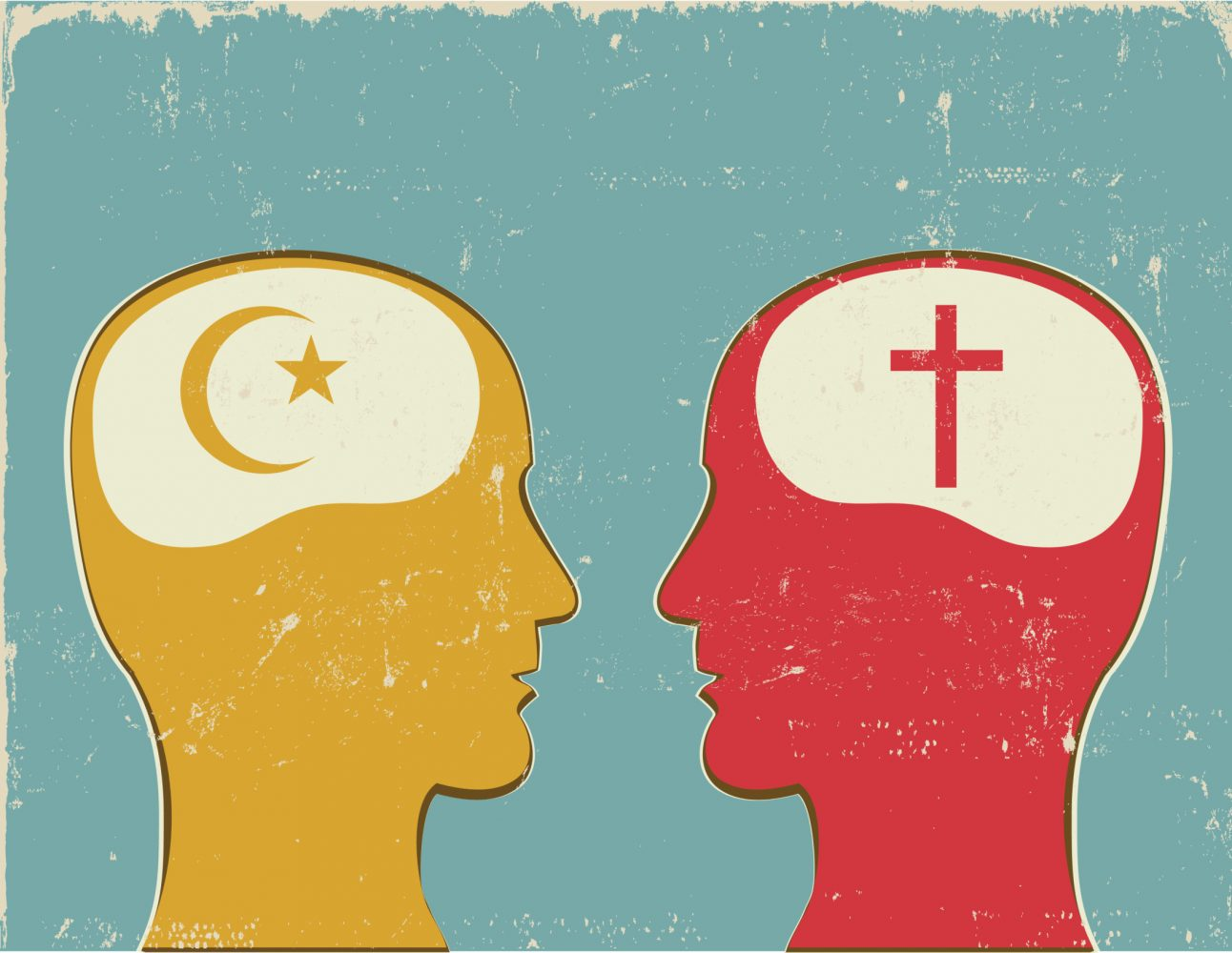 Profiles+with+Christian+and+Islamic+symbols