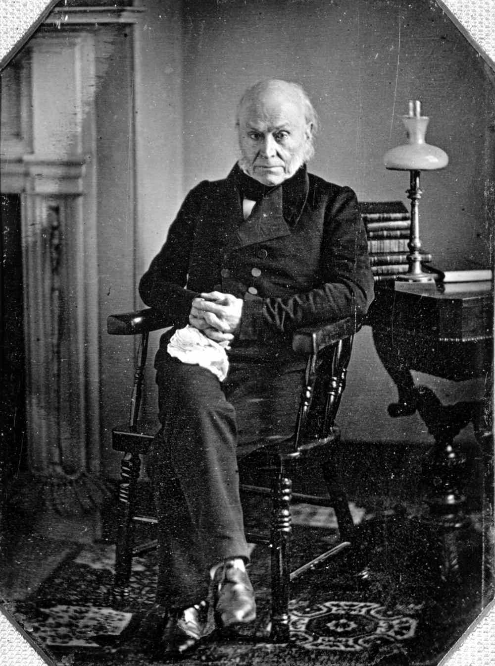 Image result for john quincy adams first photograph