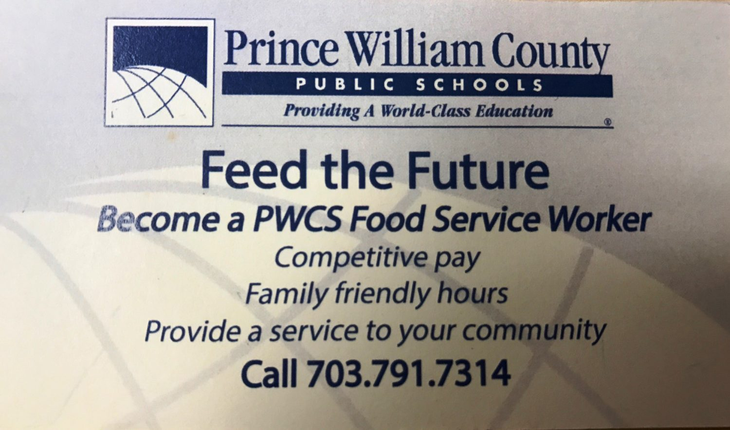 FEED+the+Future%3A+Become+a+PWCS+Food+Service+Worker