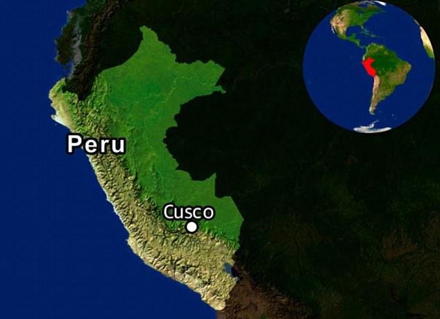 Image result for south america peru cusco map