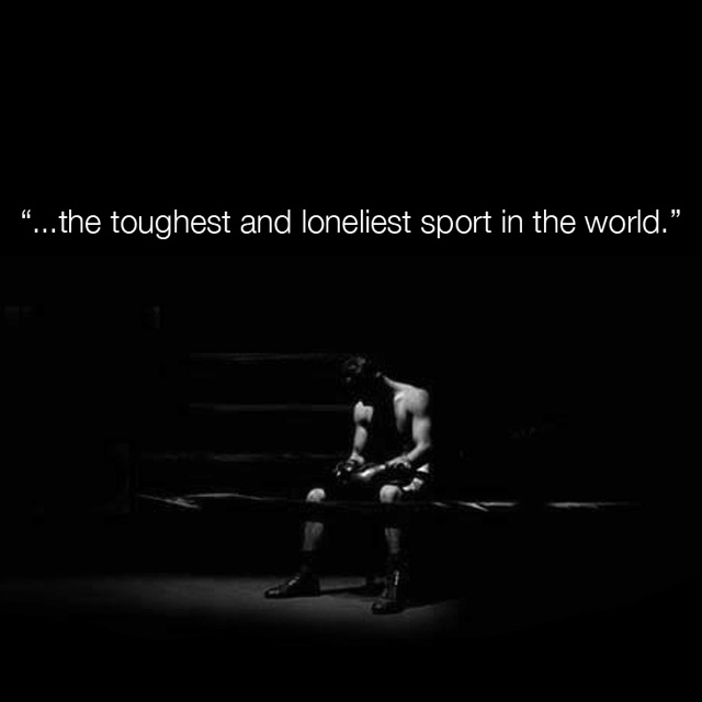 The+Toughest+%26+Loneliest+sport+in+the+world