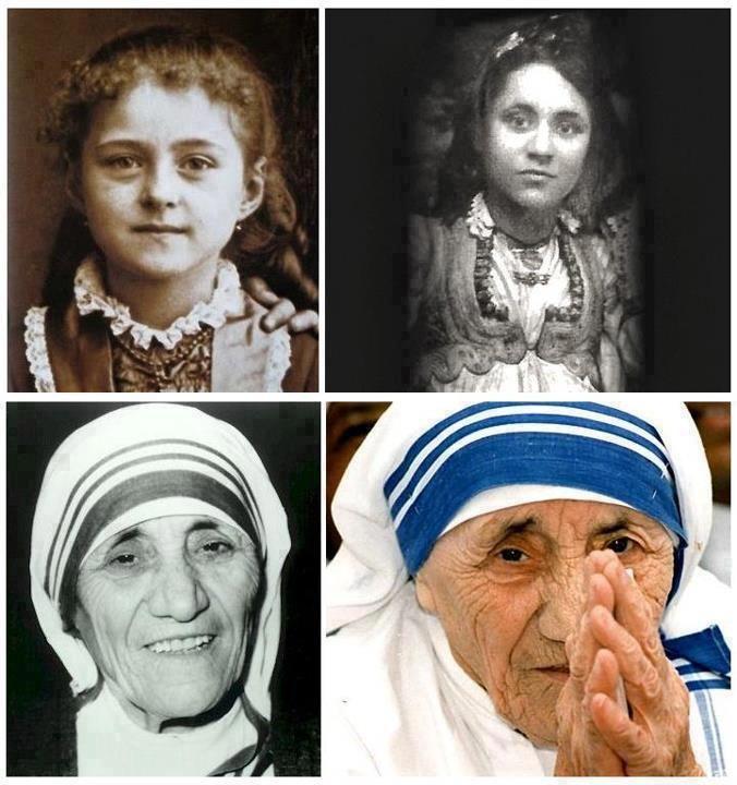 Image result for Anjeze Gonxhe Bojaxhiu was born in the year 1910