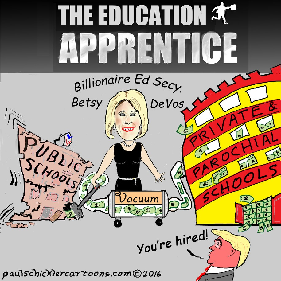 Betsy+DeVos%3B+Secretary+of+Private+Education