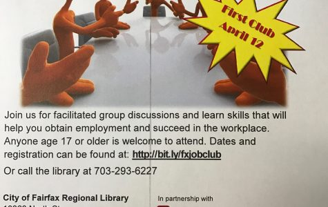 FREE Monthly Job Club in Fairfax City Library
