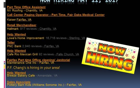 Now Hiring may 11, 2017