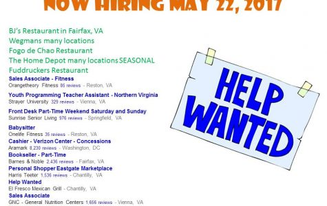 Now Hiring May 22, 2019