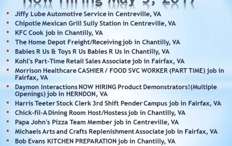 Now Hiring May 5, 2017
