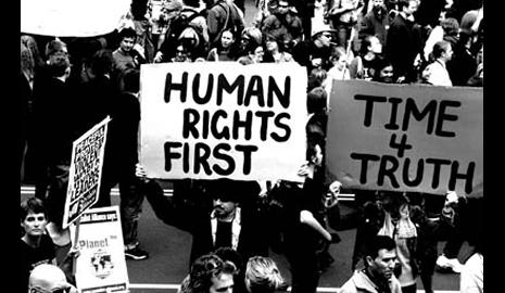 Freedom and the cost of human rights in America.