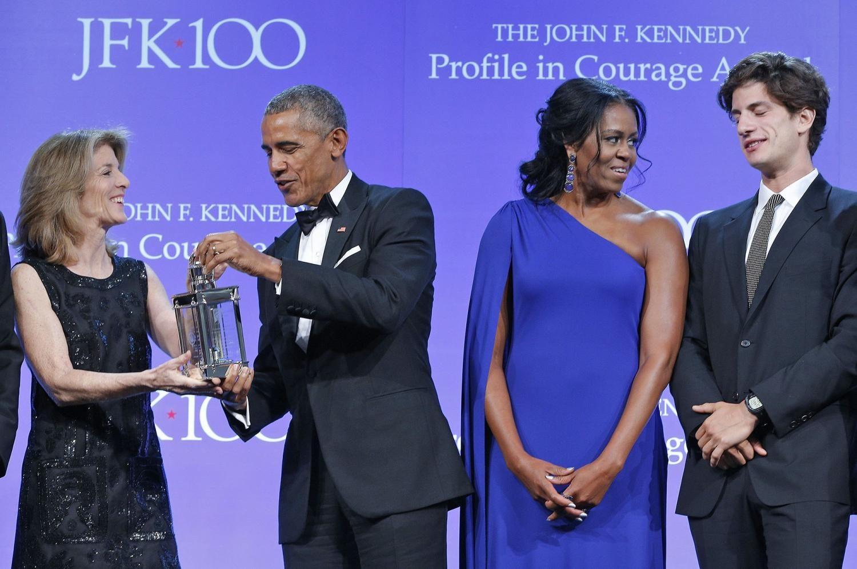 Barack Obama Speaks of Political Courage