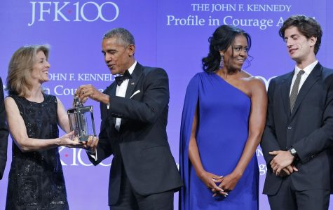 Barack Obama Speaks of Political Courage