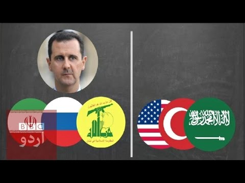 Why is there a war in Syria?
