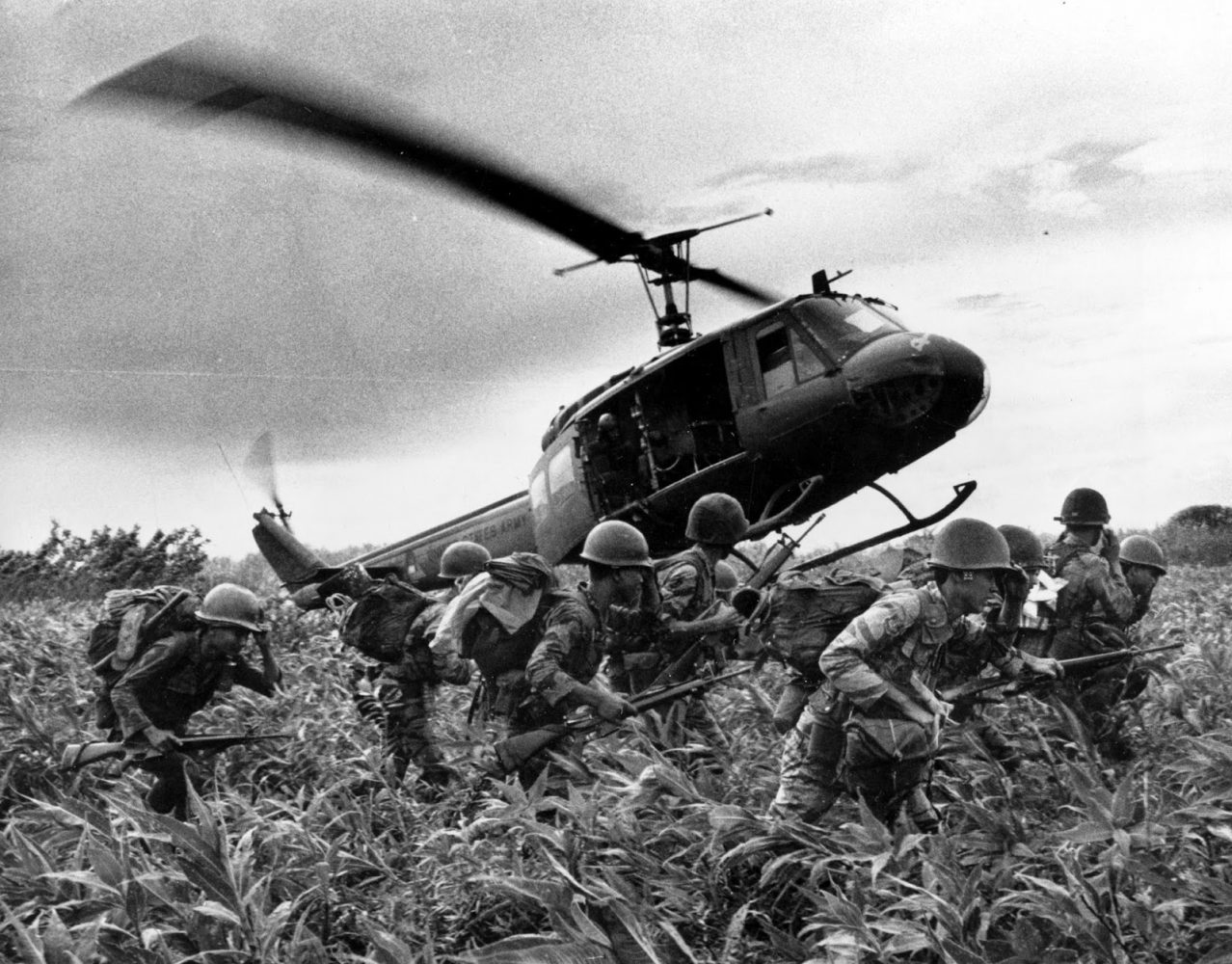 Casualties increased as President Johnson escalated American involvement.