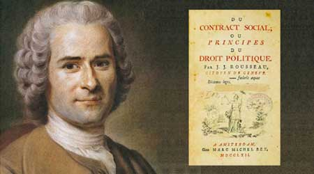 Image result for jean jacques rousseau enlightenment the social contract