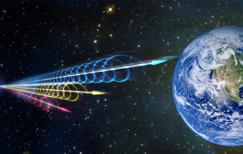 Strange Radio Bursts From Deep Space