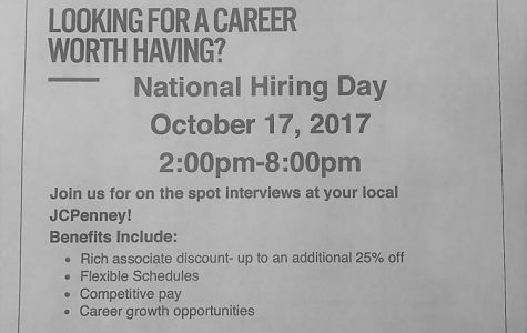 JC Penney Hiring Event TODAY Oct. 17th 2pm-8pm