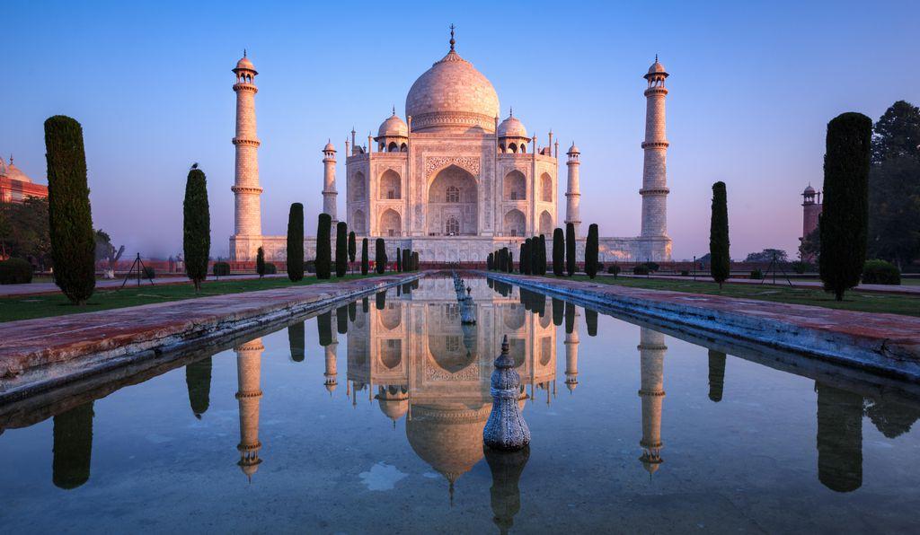 Taj Mahal-Delhi-India