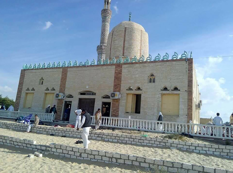 Egypt%27s+Sinai+Mosque+Assault