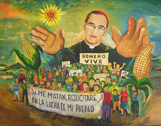 As a Catholic priest Romero led the hearts of the people of El Salvador.