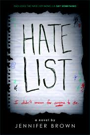 'Hate List' By: Jennifer Brown (Review)