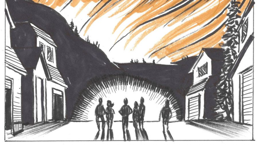On Monday, October 9th, cartoonist and writer Brian Fies lost his home to the wildfires that tore through California's wine country. By the following Sunday, he had chronicled the experience in a comic, which he published on his blog.