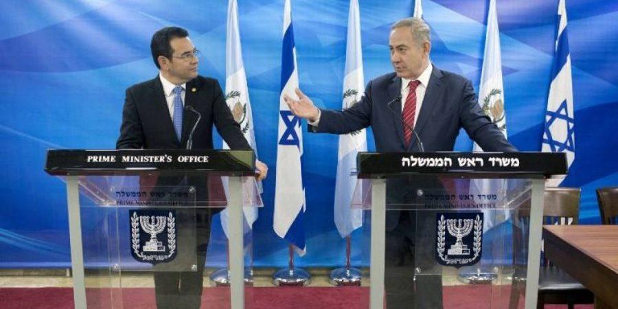 La embajada de Guatemala regresa a Jerusalen