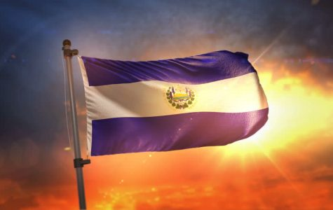 this is the flag of el Salvador.