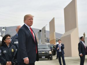 President Trump Visits California; Democratic Governor Reminds Him That Bridges are Better than Walls