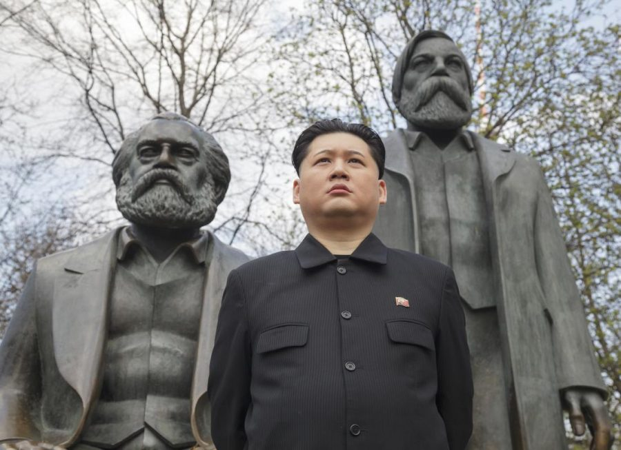 Karl+Marx+meets+Kim+Jong+Un