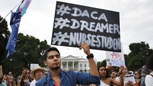 Travel restrictions in the U.S (DACA) are dividing families