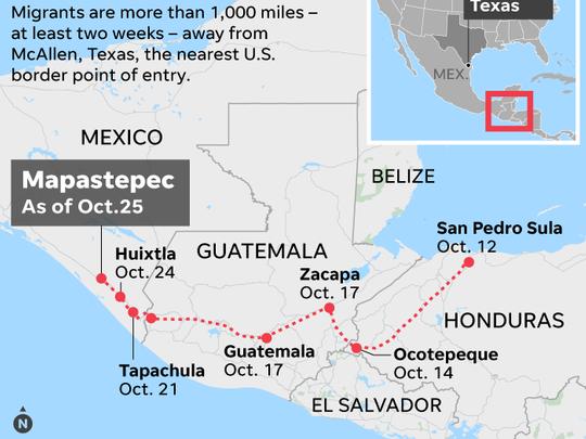 The migrant caravan and the politics of fear