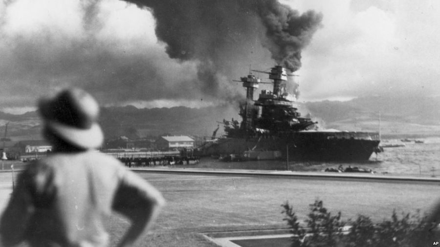 Pearl Harbor and 9/11; The detainment of the enemy and issues of Human Rights