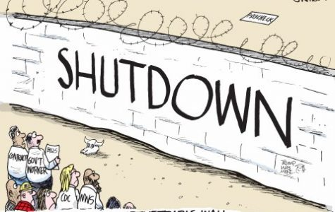 What caused the government shutdown?
