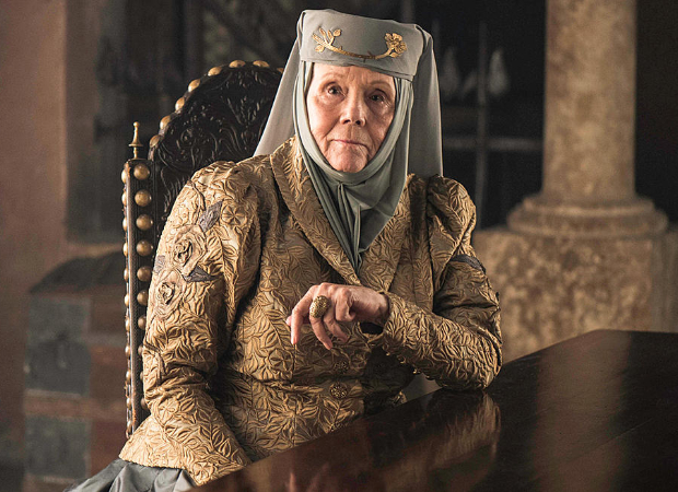 Olenna Tyrell. The influence of powerful women.