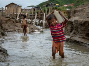 We can have clean water and sanitation across the World