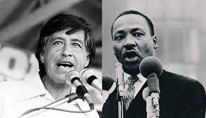 American Civil Rights Leaders; Chavez and King