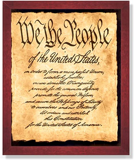 The Preamble; We The People