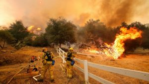 Wildfires in California, the best defense.