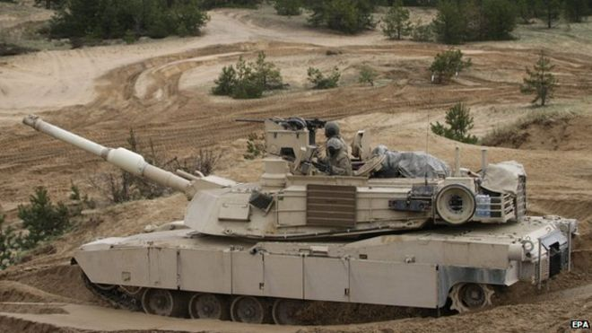 US To Store Heavy NATO Weapons in Poland