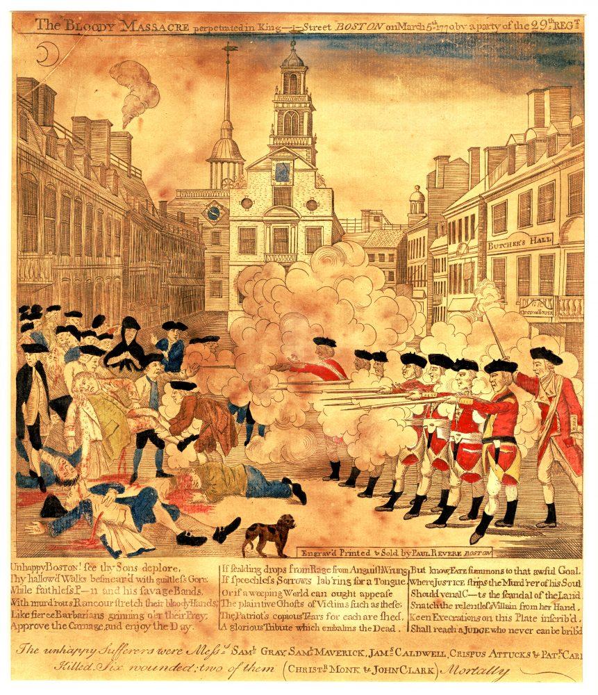1770 Boston Massacre