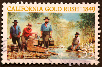 an overview of the california gold rush of 1849 The california gold rush was an important part of american history and in the  shaping of the country itself the discovery of gold in northern california f.