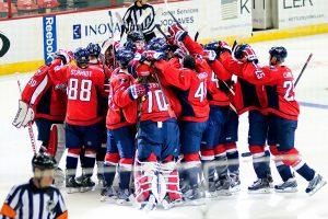 Capitals Celebrate Shootout Win