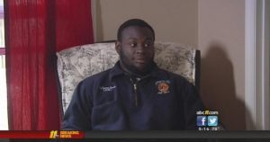 DeShawn Currie in his interview with ABC 11