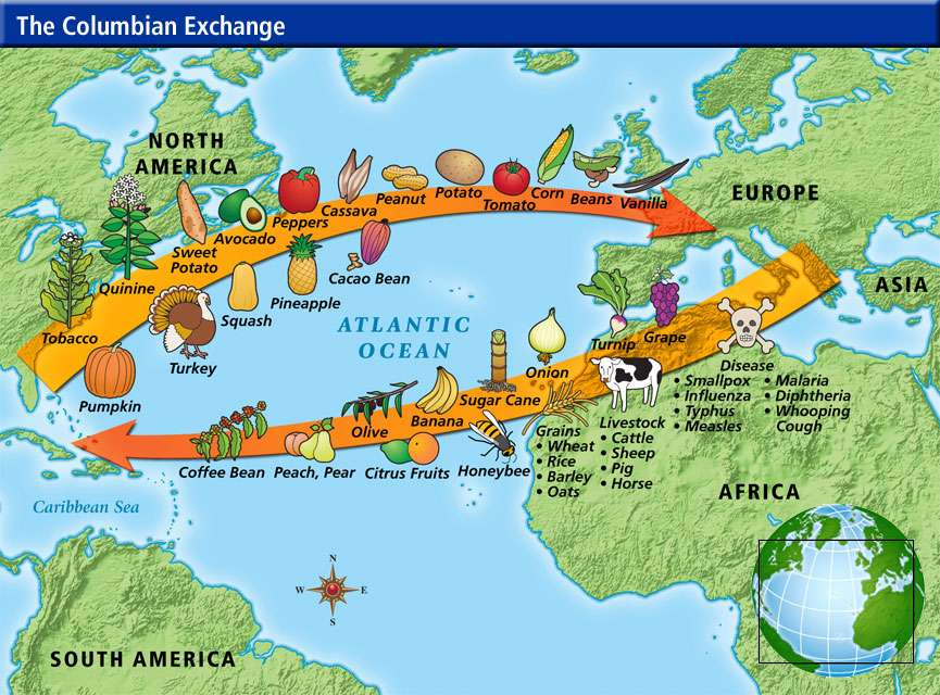 The+Columbian+Exchange%3A+Biology+Matters