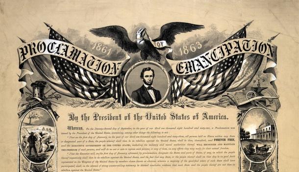 Emancipation+Proclamation
