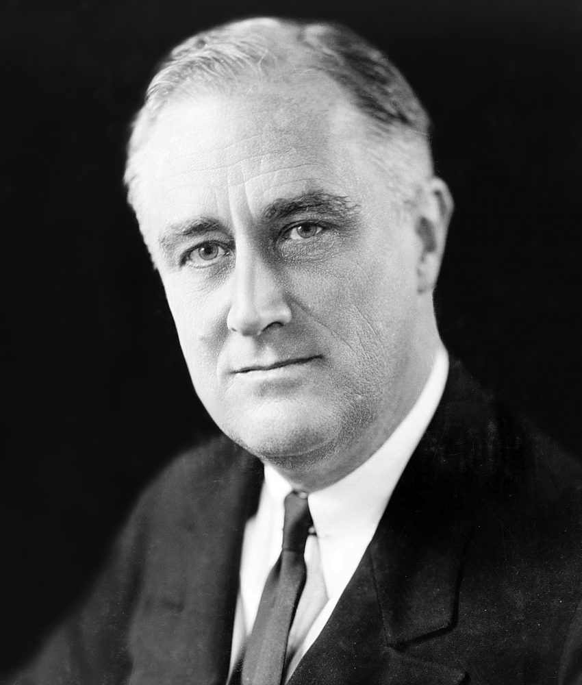 Franklin D. Roosevelt. The Name Says It All