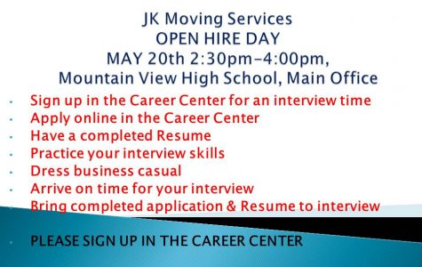 JK Moving Services HIRING EVENT MAY 20th HERE!!!!!!!!!